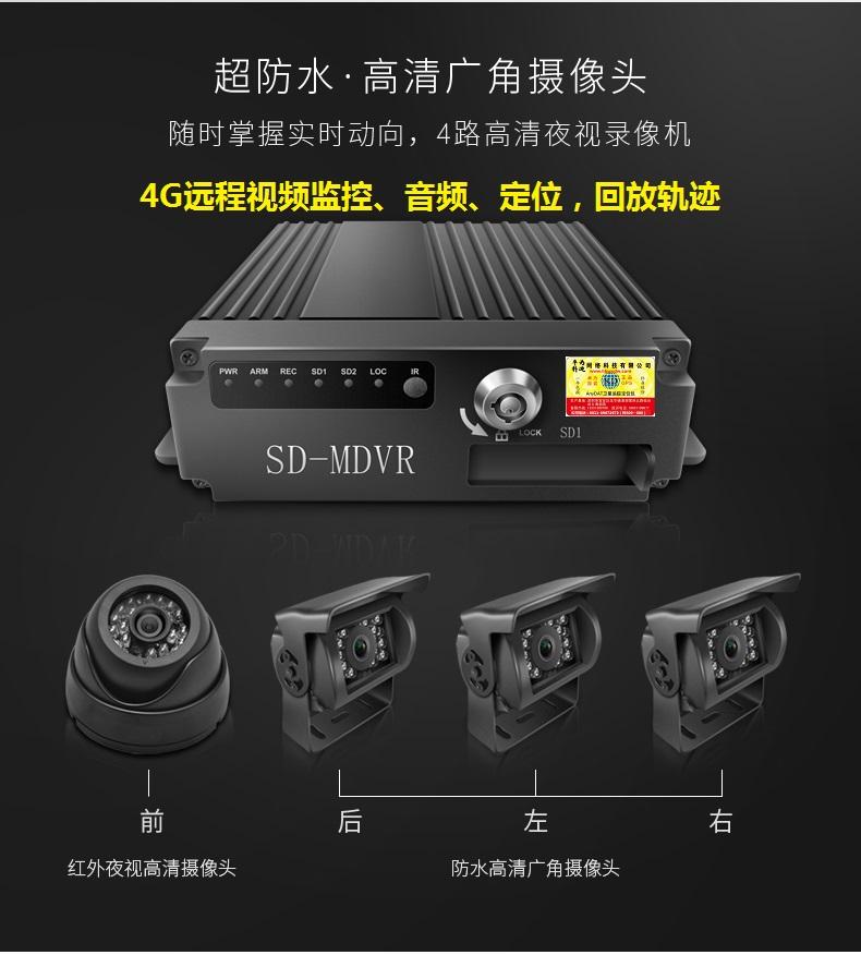 远程车载4G监控